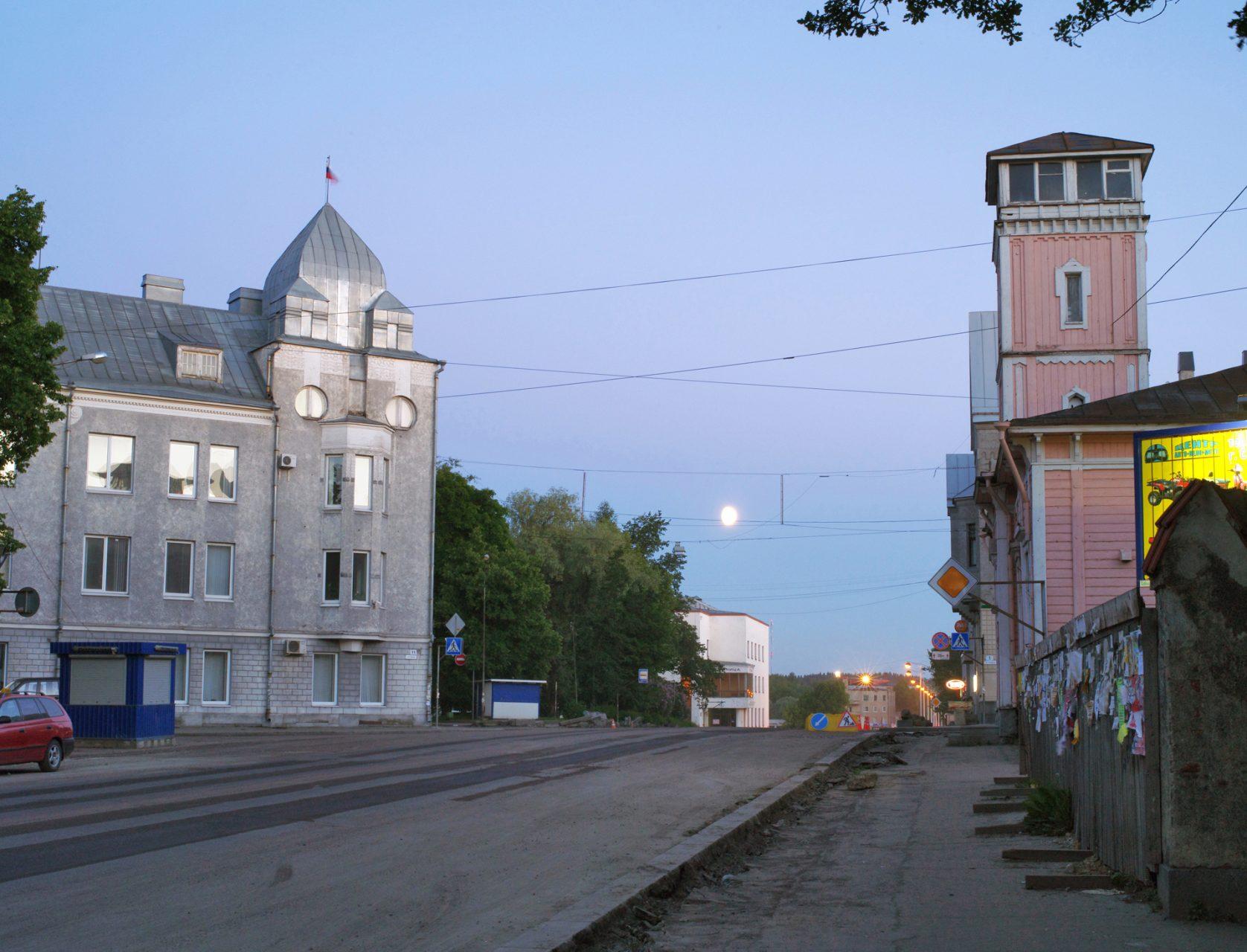 Kasaniya (Tracks), c-print, 100x120, 2013 / Russia, Republic of Karelia. Sortavala (Sortavala in Finnish, Sordavala in Swedish, Sortavala in Karelian; until 1918 called Serdobol).