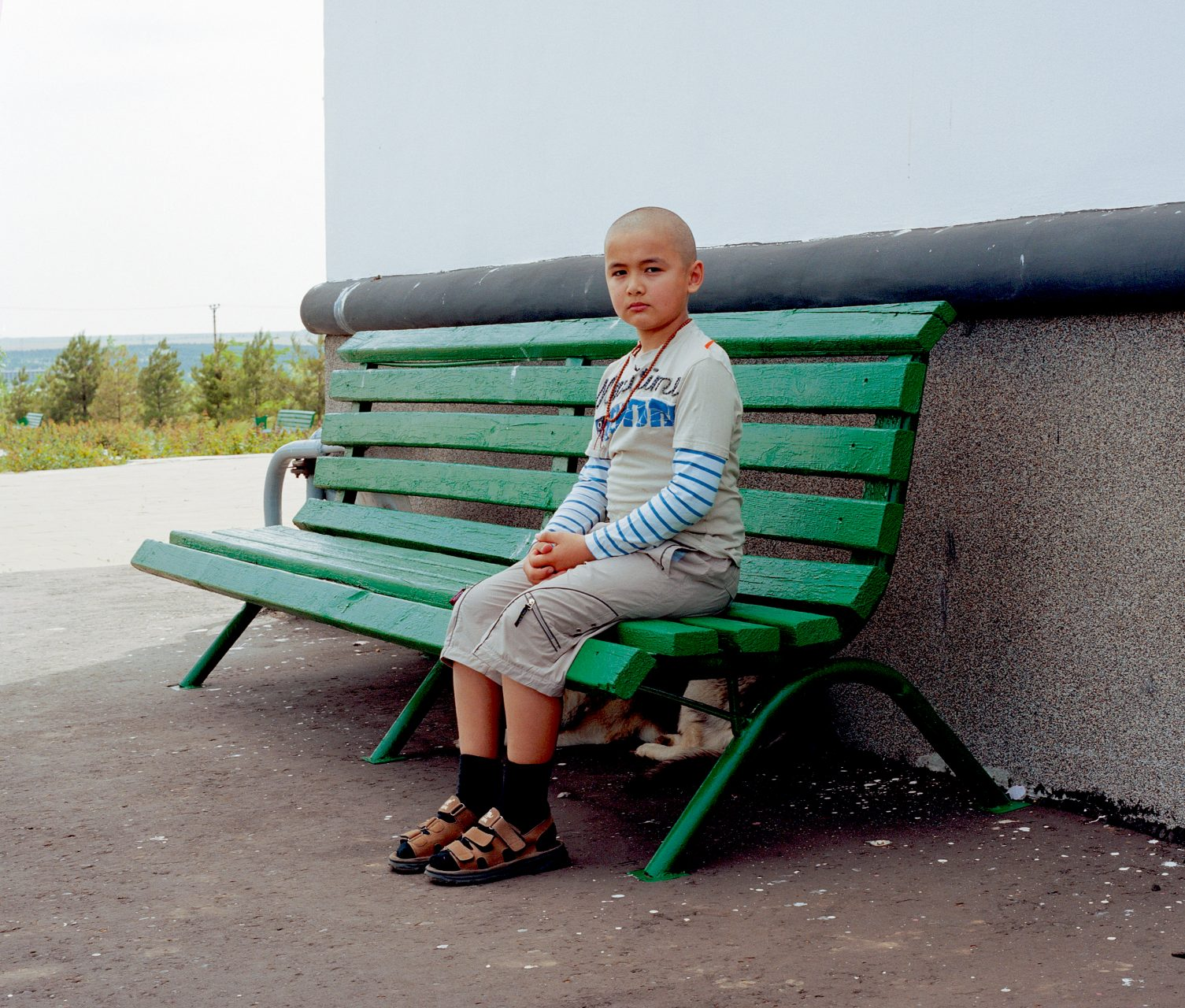 Russkie #110, c-print on dibond,100 x 125 cm, 2007