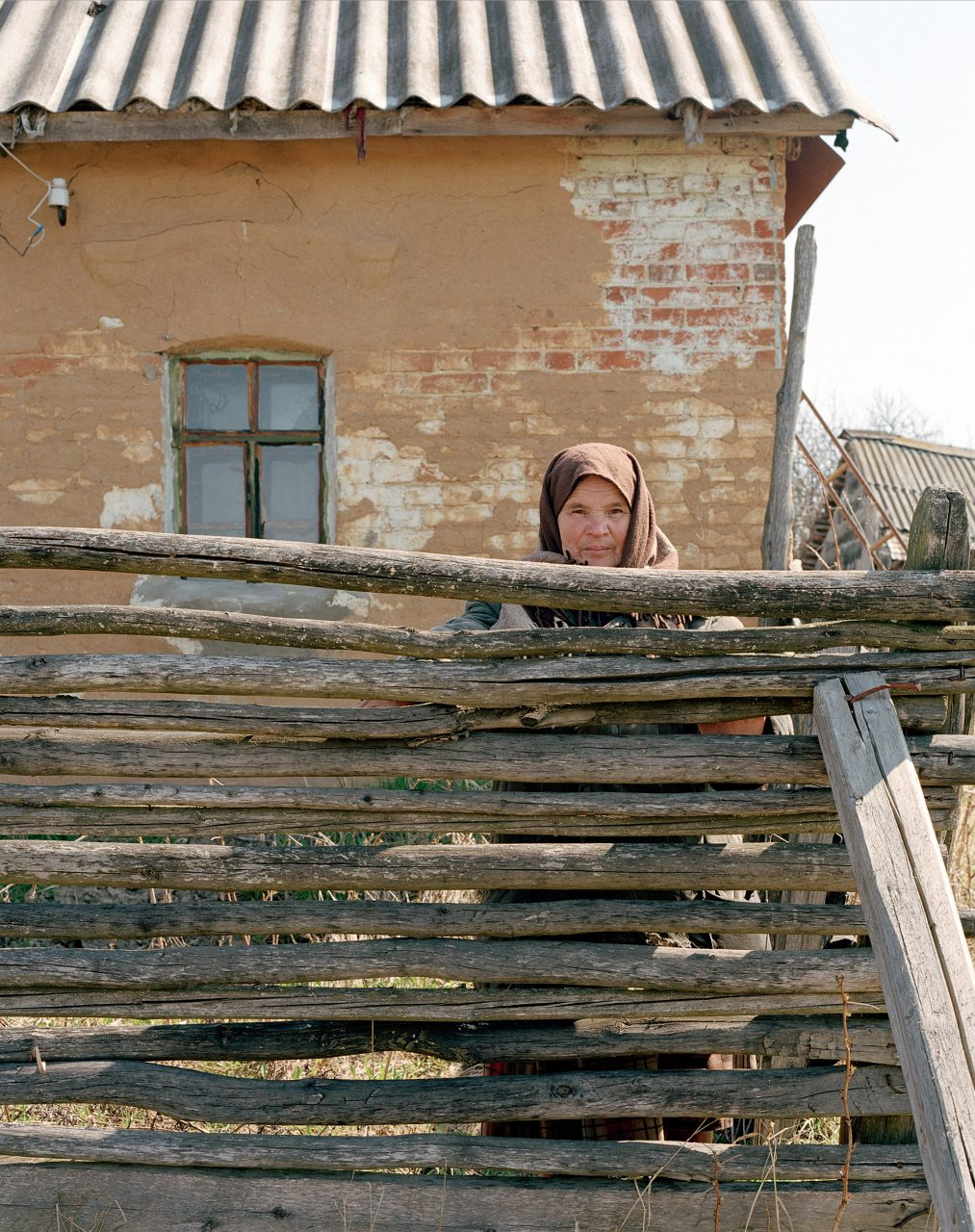 Bezhin Lug (Bezhin Meadow), Tatyana Mikhailovna, c-print on dibond, 100x80, 2004