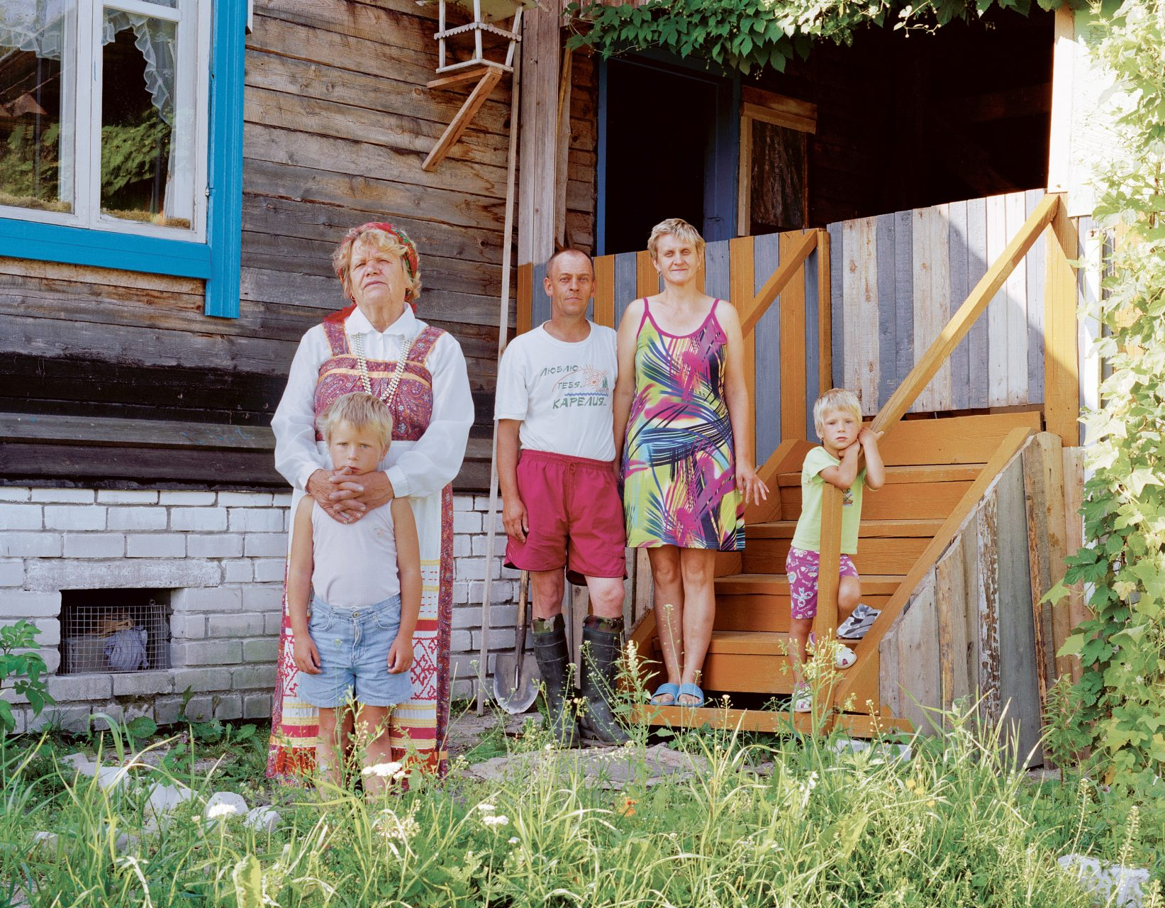 Russkie #14, c-print on dibond,100 x 120 cm, 2007