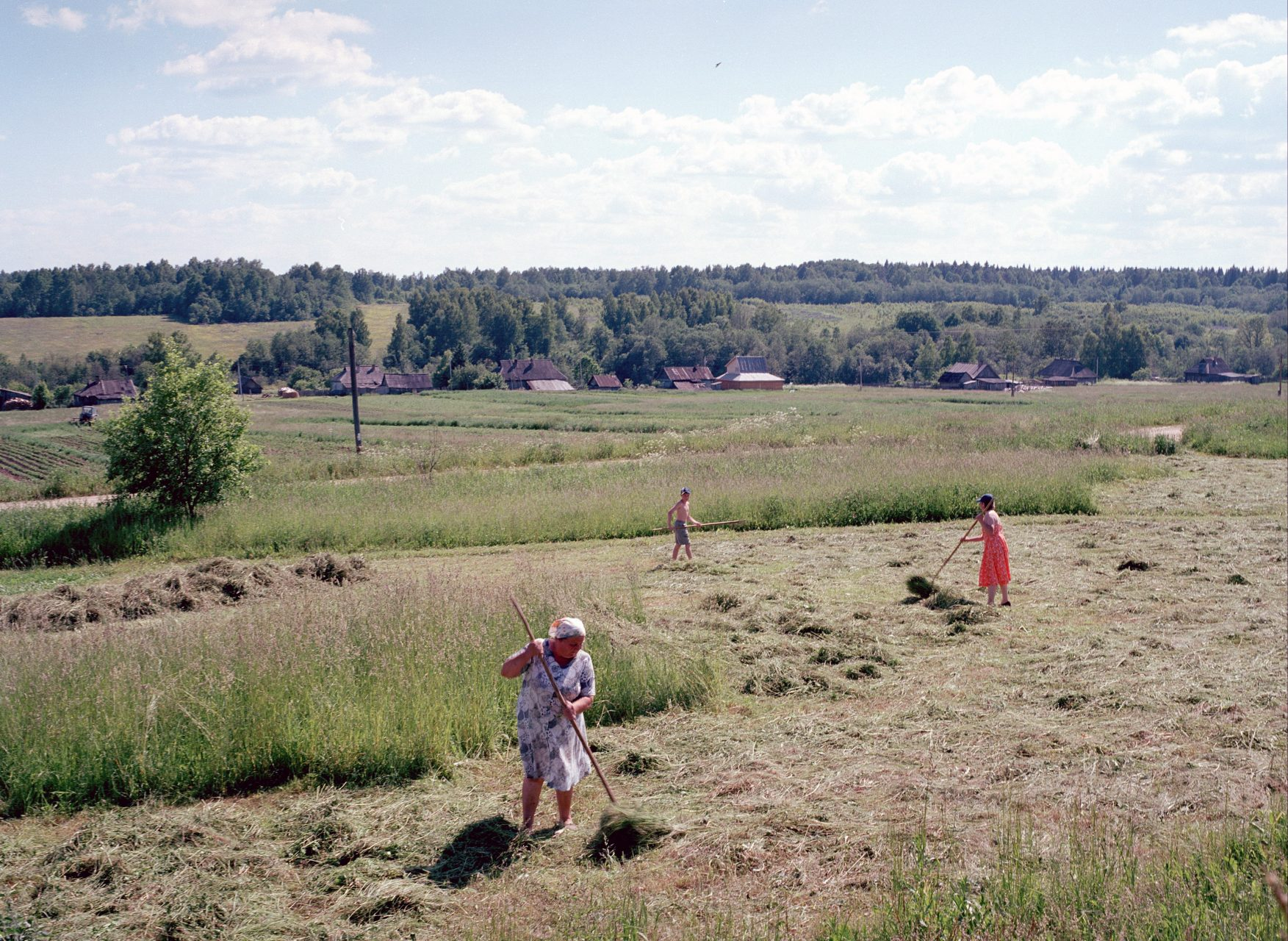 Bezhin Lug (Bezhin Meadow), Bogoroditsa, c-print on dibond, 100x125, 2004