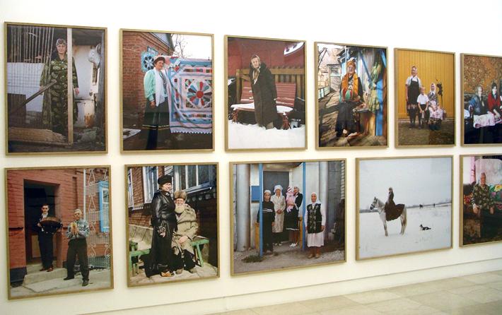 Anastasia Khoroshilova, Russkie, Galerie Ernst Hilger, Vienna, 2007
