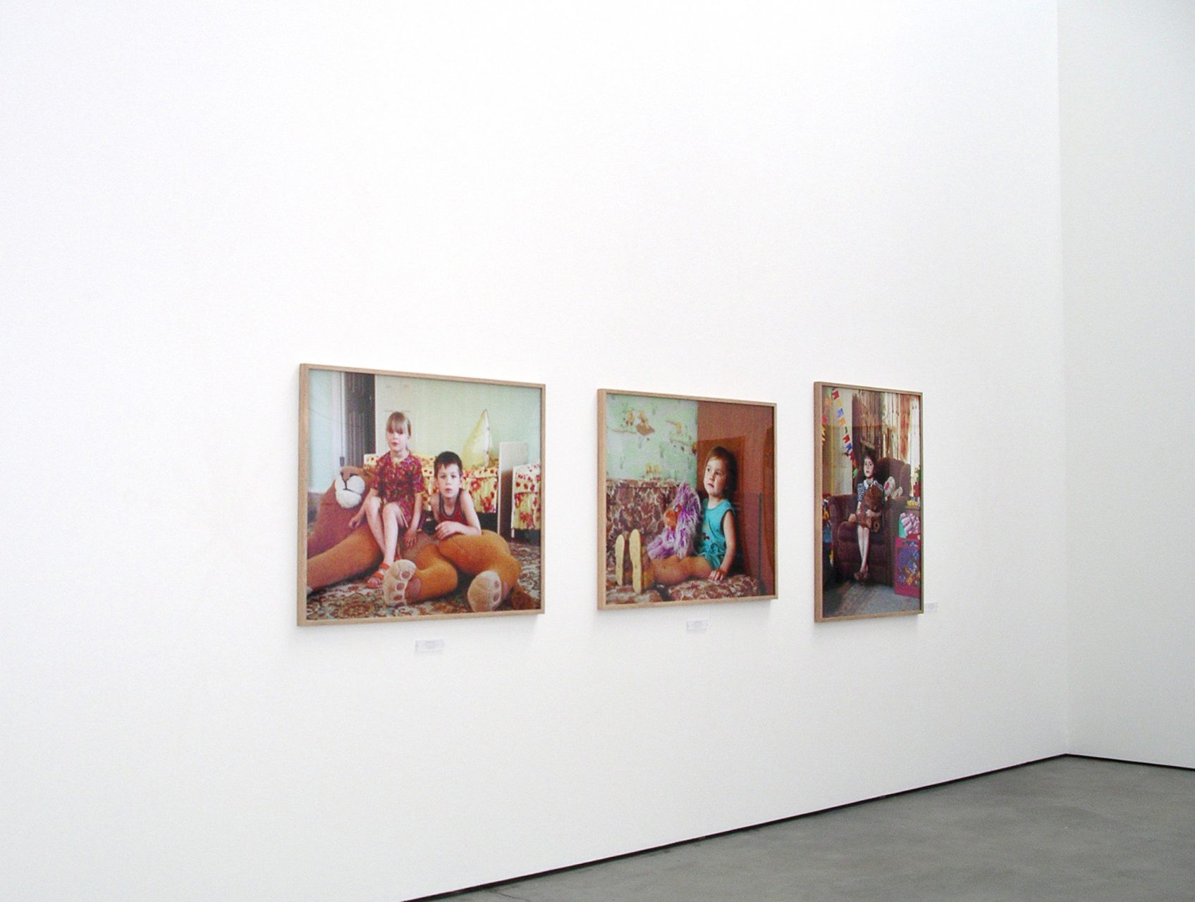 Anastasia Khoroshilova,Islanders 2003-2006, Kunsthalle Lingen, Lingen, 2007
