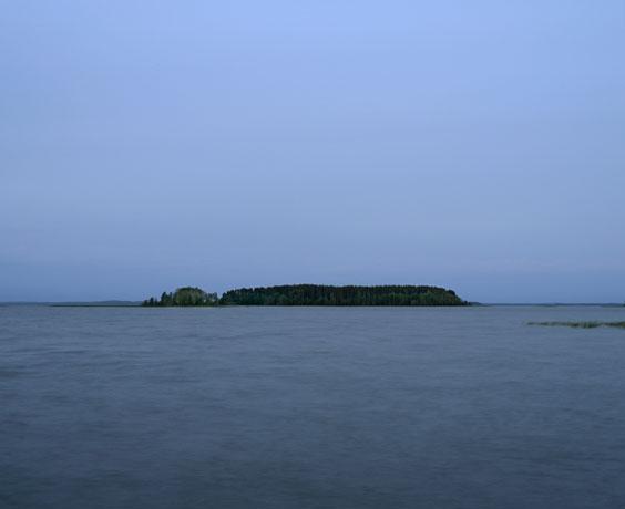 Kasaniya (Tracks), c-print, 100x120, 2013 / Finland. North Karelia, Joensuu. 'Tarkovsky Bay'.