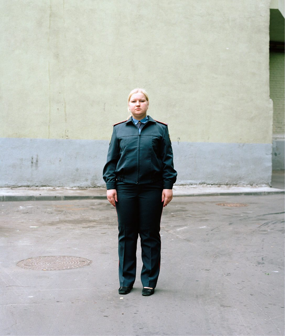 9,5% plus, Sergeant A., c-print on aluminium, 120 x 96 cm, 2005
