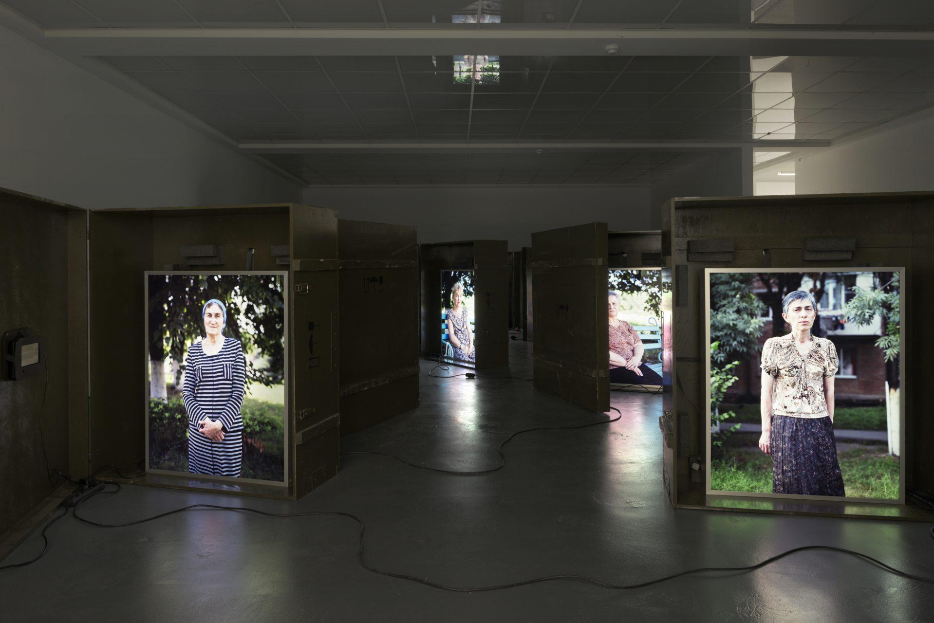 Anastasia Khoroshilova, Starie Novosti (Old News), Kunsthaus Baselland, Switzerland, 2012