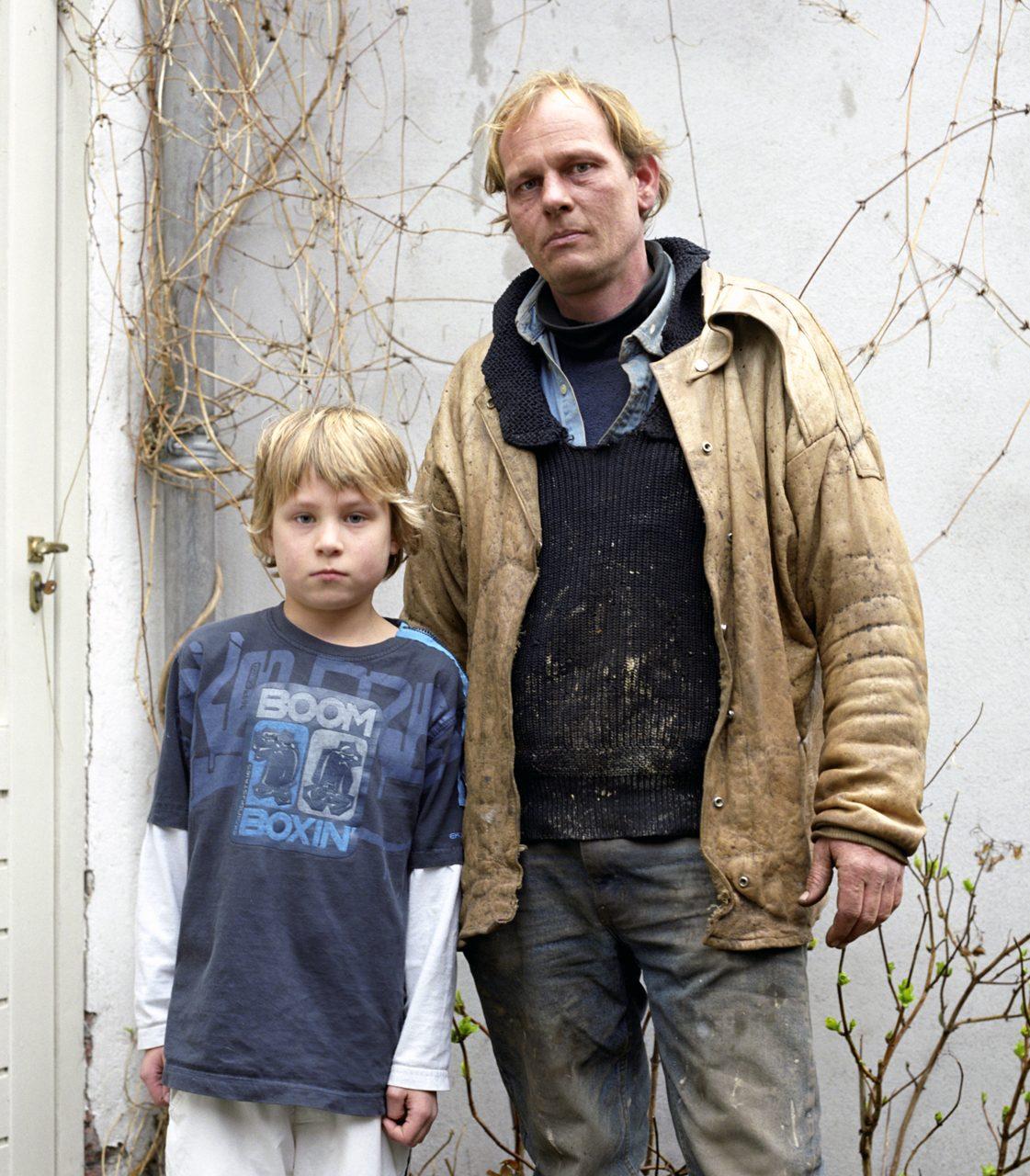 Freek Slot and his son, Groot BV, Edam, 2007